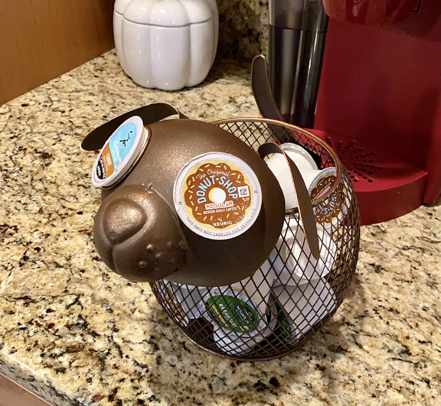 Cat Creamers 25 K-Cups K-Cup Countertop Sculpture Holder for ...