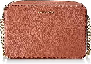 MICHAEL KORS Womens Large Ew Crossbody Bag, Sunset Peach - 32S4GTVC3L