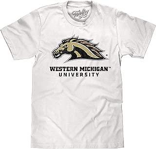 Tee Luv Western Michigan University Broncos T-Shirt - WMU College Shirt