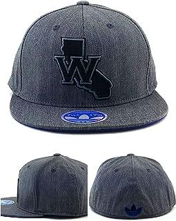 NBA Golden State Warriors Fashion Flex Flat Bill Adidas Hat - L/XL- M141Z