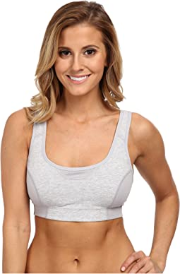 Wicking Cotton Comfort Sports Bra