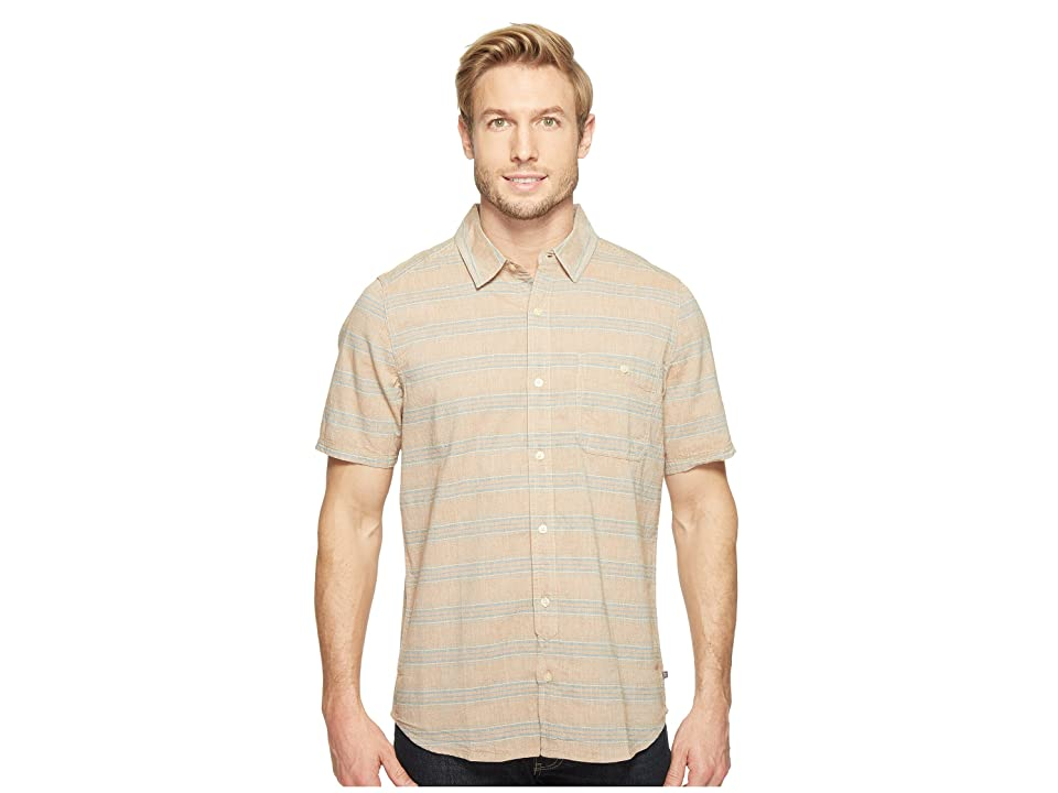 Toad&Co Hardscape S/S Shirt (Tabac) Men