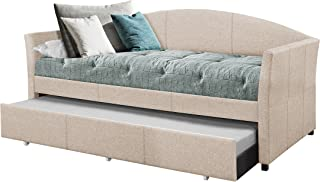 Hillsdale Furniture Hillsdale Westchester Daybed with Trundle, Twin, Fog Fabric