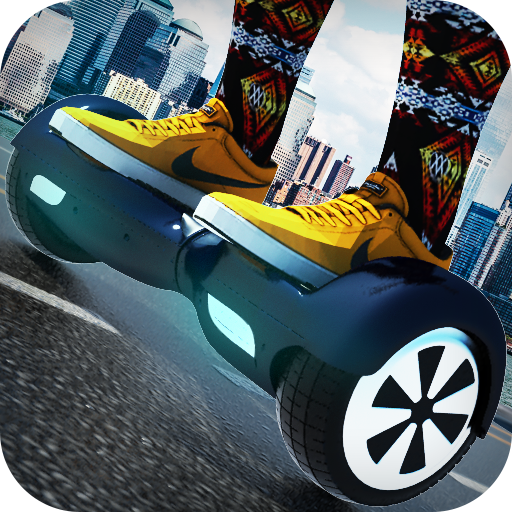 Traffic Hoverboard Subway 3D