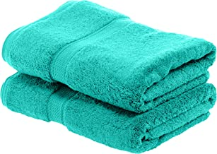 Superior Bathroom Accessories Soft Bath Collection Towel Set, 2PC, Turquoise, 2 Count