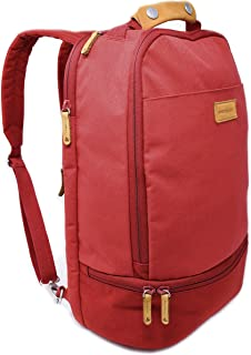 backpack with separate shoe compartment