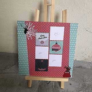Kit Scrapbooking Page de Noël 3 photos