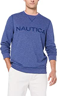 Nautica Men's LS Logo PO