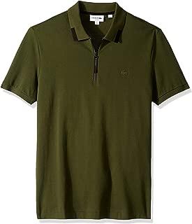 Lacoste Men's S/S Pique PIMA Ultra Leger Polo Slim FIT Shirt, Caper Bush, 3XL