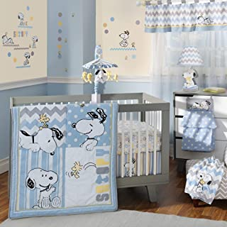 Lambs & Ivy My Little Snoopy 4 Piece Bedding Set