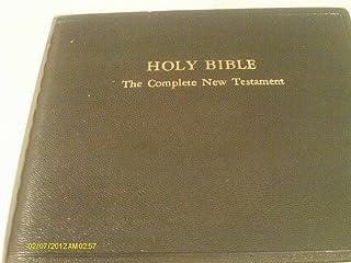 HOLY BIBLE: The Complete New Testament JKV in 23 1/2 Hours of Audio (The Complete New Testament - Authorized King James Version)