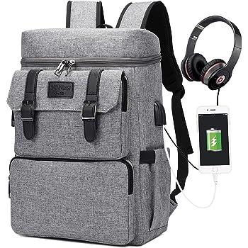 Vintage Backpack for Men Women Laptop Backpack Bookbags College Backpack