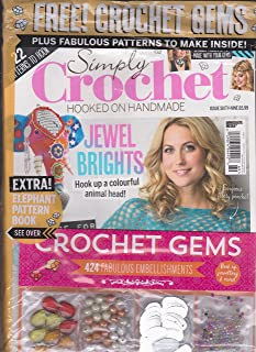 Simply Crochet Hooked on Homemade Issue 69 Jewel Brights (2018)