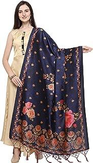 J B Fashion Women's Silk (Dupatta-14_Multicoloured_Free Size)