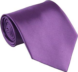 """Soophen Mens Necktie 3.75"""" Tie Solid Color Ties"""