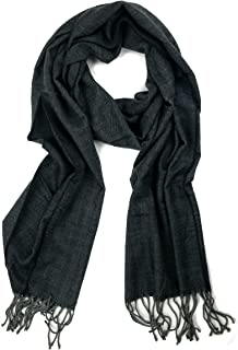 Plum Feathers Super Soft Luxurious Cashmere Feel Winter Scarf
