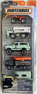 Matchbox 2018 Ranger Rescue 5-Pack
