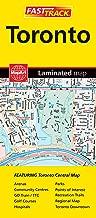 Toronto, ON - Fast Track - laminated map