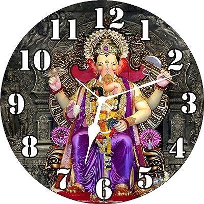 Generic Wall Clock Lord Ganesha