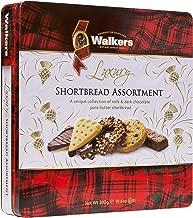 Walkers Shortbread Chocolate Shortbread Assortment Tin, 10.6 Ounce