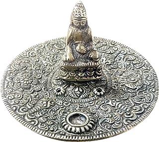 Diollo Traditional Tibetan Incense Burner Plate for Meditation, Yoga, Aromatherapy, Home Fragrance