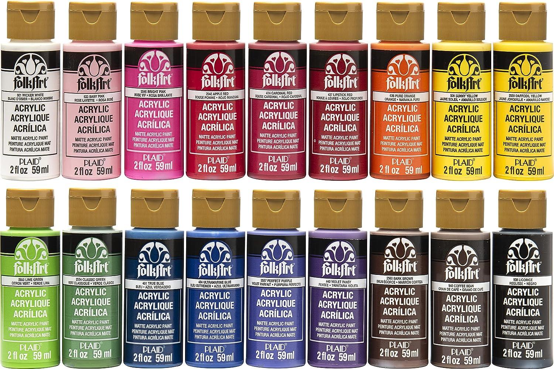 FolkArt Genuine favorite Free Shipping Acrylic Paint Set 2-Ounce Colors PROMOFAI Color 18 I
