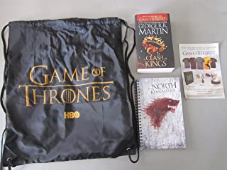 2012 SDCC GAME OF THRONES HBO EXCLUSIVE SDCC PANEL GIFT SWAG BAG Includes book.