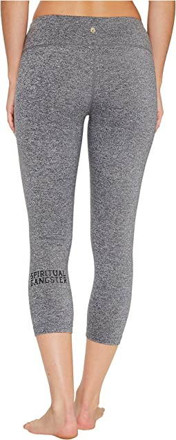 Spiritual Gangster - SG Varsity Power Crop Leggings