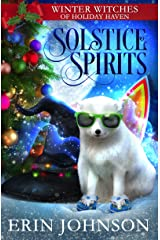 Solstice Spirits: A Christmas Paranormal Cozy Mystery Kindle Edition