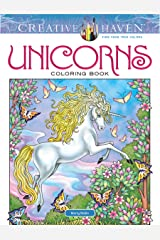 Creative Haven Unicorns Coloring Book (Creative Haven Coloring Books) Paperback