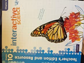 Interactive Science Teacher's Edition and Resource Grade 3 Chapter 10