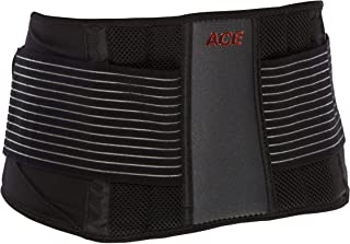 ACE Adjustable Back Brace, Stabilizing Support and Comfort, Adjustable, Breathable, Full Range of Motion, from America's Most Trusted Brand of Braces