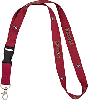 Bloomsburg University Huskies NCAA Car Keys ID Badge Holder Lanyard Keychain Detachable Breakaway Snap Buckle