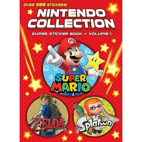 Nintendo Stickers: Amazon com