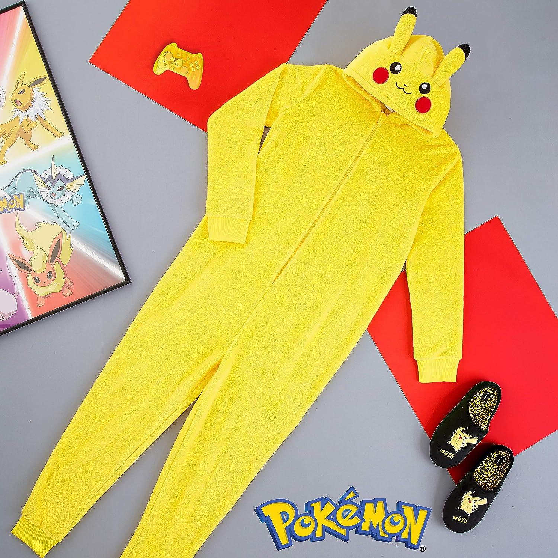 Pokèmon Pijama Hombre Entero de Una Pieza, Pijama Hombre ...