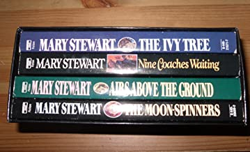 Mary Stewart Box Set Ivy Tree,nine Coaches Waiting,airs Above the Ground,moon-spinners (queen of Suspense)