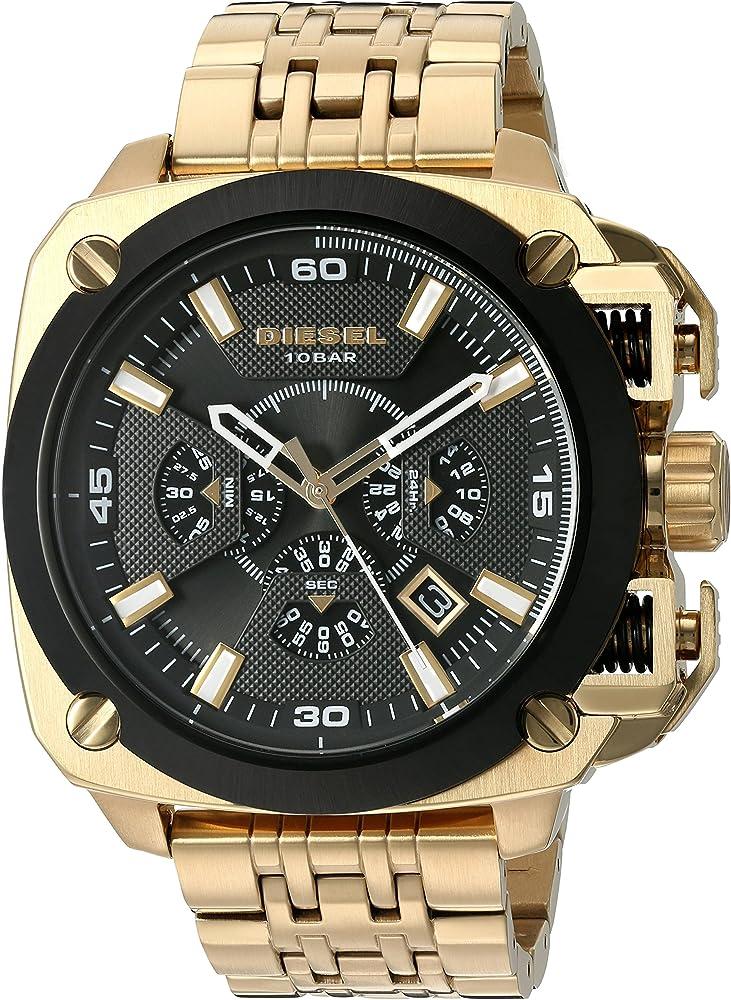 Diesel orologio cronografo per uomo in acciaio inossidabile DZ7378