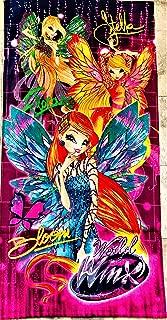 Winx Club Girls Stella, Flora and Bloom Cotton Towel