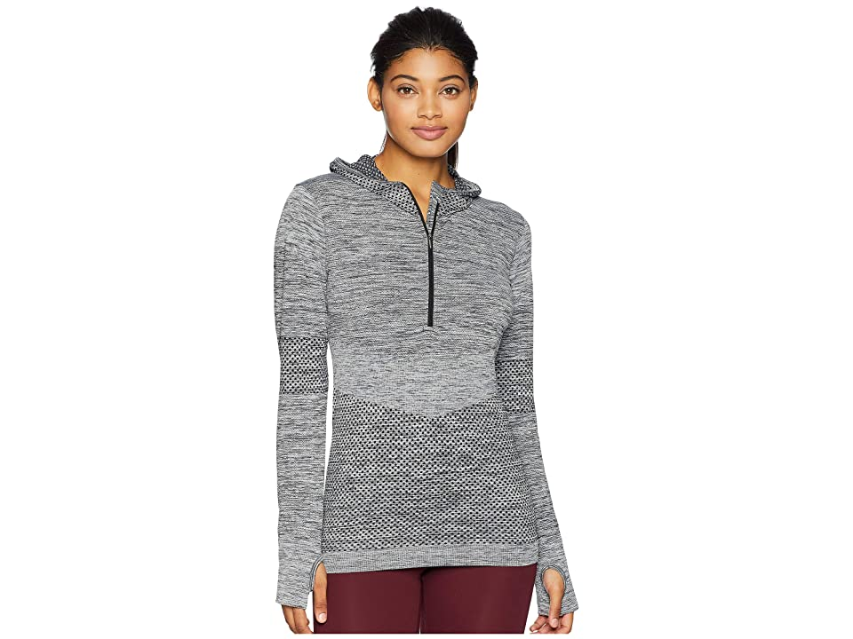 Eleven by Venus Williams Seamless Zip Hoodie (Black) Women