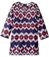 Oscar de la Renta Childrenswear - Ikat Cotton Caftan (Toddler/Little Kids/Big Kids)