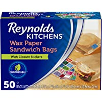 Deals on 50CT Reynolds Kitchens Wax Paper Sandwich Bags