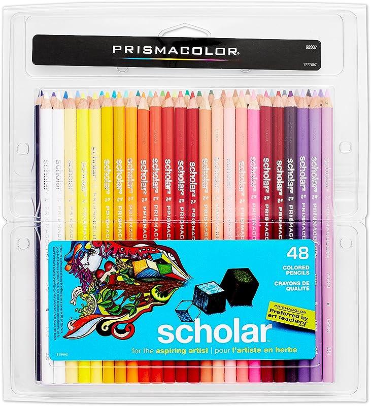 Prismacolor Scholar Colored Pencils 48 Pack