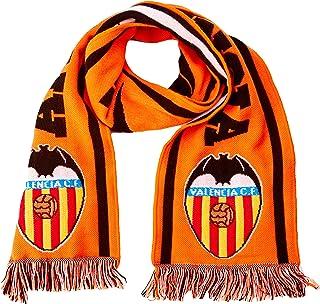 Valencia CF 01BUF27-00 Bufanda Telar, Blanco/Naranja, Talla Única