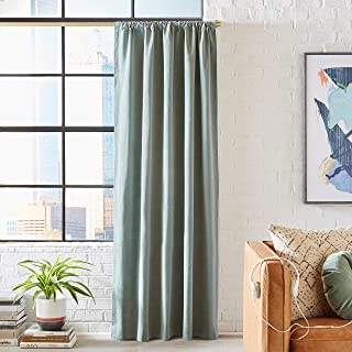 Rivet Casual Rustic Curtain, 96