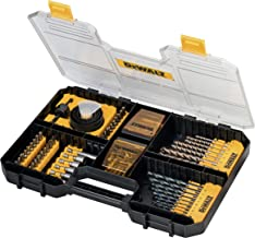 DeWalt TSTAK DT71569 Universele set/MaxiSet (100-delig, met HSS-metaalboren, betonboren, gatzagen, bits 25 mm, Torx, Phill...