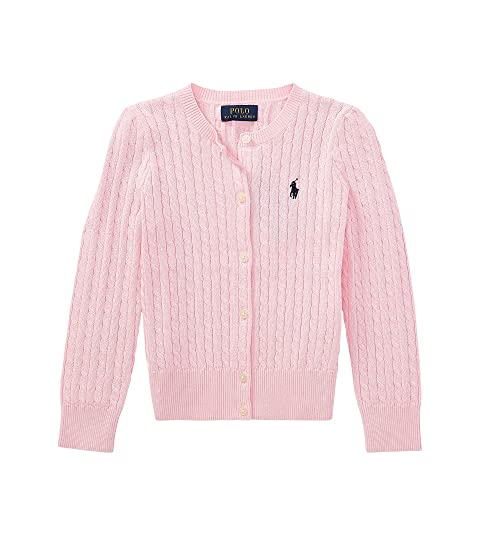 Polo Ralph Lauren Kids Cable Knit Cotton Cardigan Little Kids At
