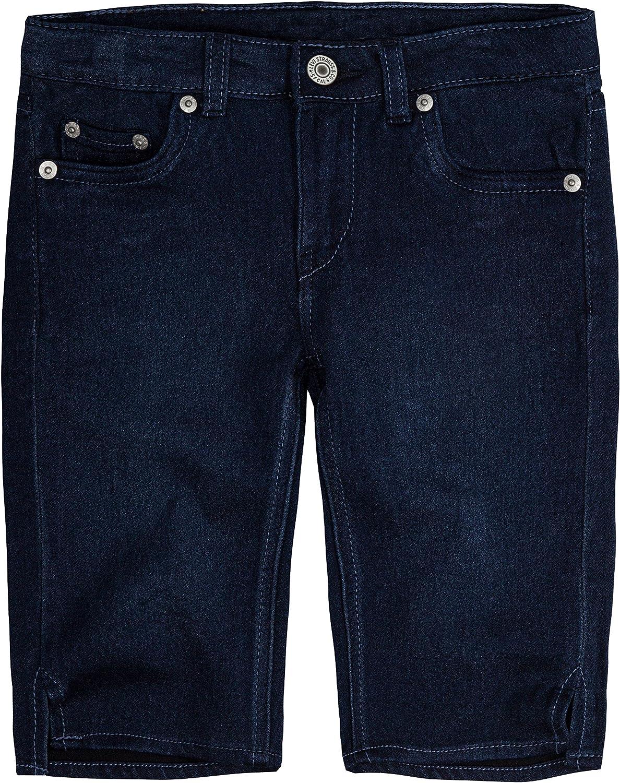 The Childrens Place Girls Big Solid Basic Denim Shorts