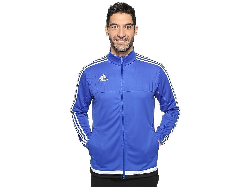 adidas Tiro 15 Training Jacket (Bold Blue/White/Black) Men