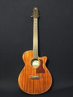 """40"""" Caraya A-2016 AR-SMT Beveled Solid Mahogany Top Acoustic Guitar w/EQ-SD+Bag"""