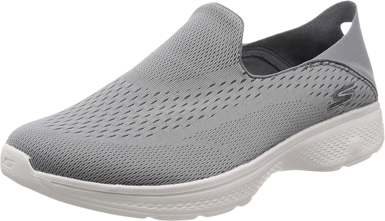 Skechers Mens 54684 BBK Fabric Low Top Slip On Walking shoes